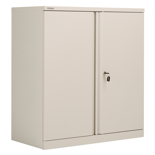 Bisley Essentials Steel Double Door 1000mm Height Cupboard