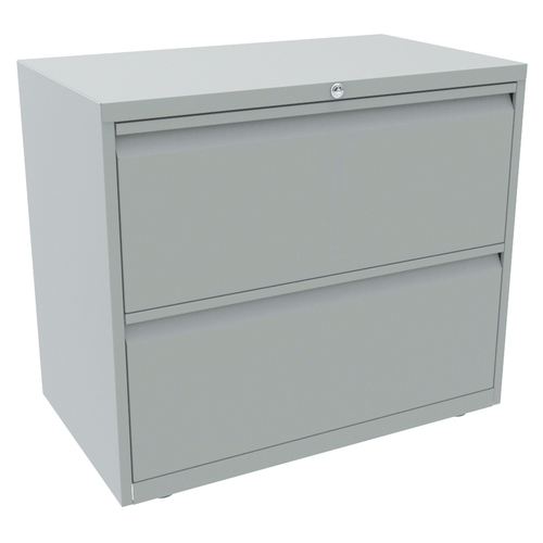 Bisley 2 Drawer Essentials Steel Side Filer with 636mm Height