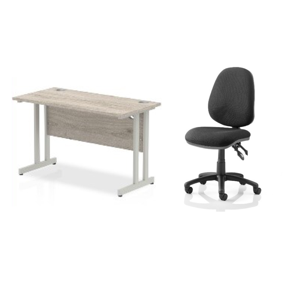 Soho Work From Home Deal -comprising of Slimline Soho Desks, exceptional Eclipse Plus Chair