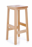 Beech Lab Stool