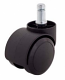 Soft Wheel Office Chair Castors (Set of 5)