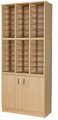 Premium Pigeonhole Unit With 36 Spaces and Cupboard