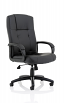 Compton Black Leather Executive Chair