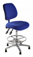 ESD Conductive Draughtsman Chair in Fabric
