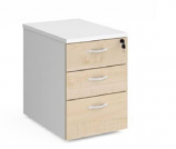 Relax Three Drawer Deluxe Mobile Pedestal