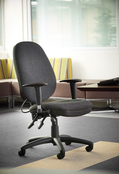Relax Sofia adjustable lumbar operators chair