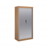 Systems Horizontal Tambour Door Cupboard 2000mm Height