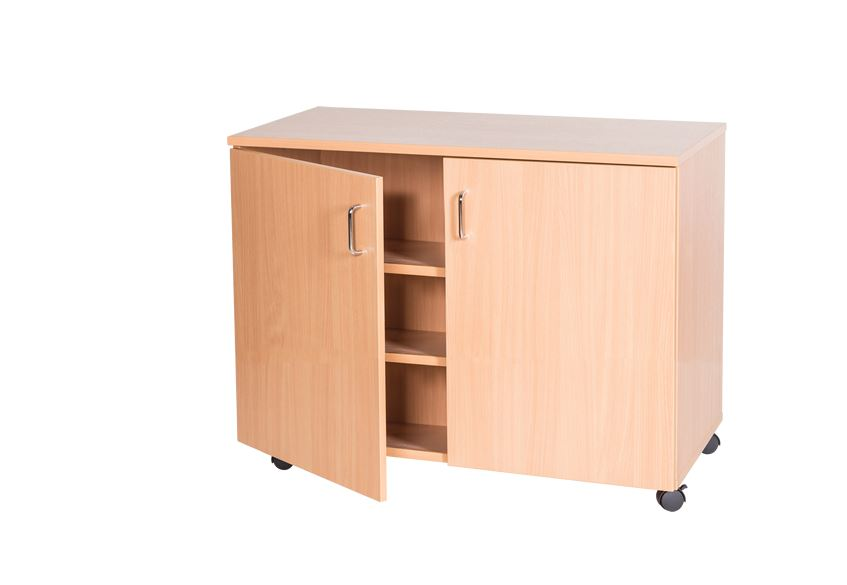 Triple Bay Storage Cupboard - 861mm High