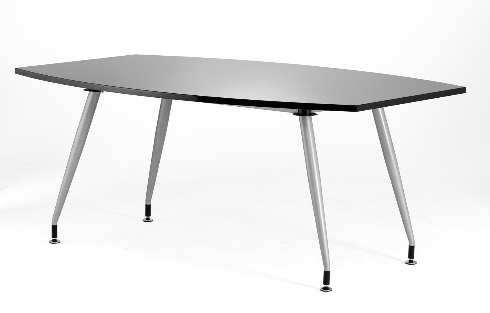1800 Boardroom Table High gloss Black