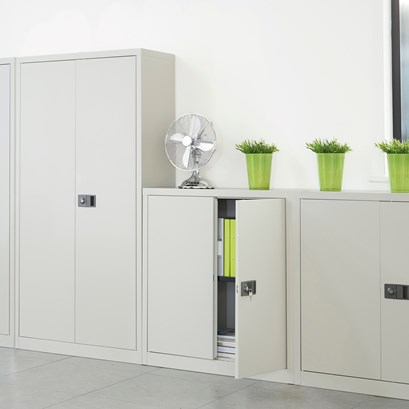 Relax Steel contract cupboard
