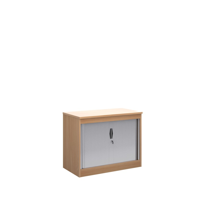 Systems horizontal tambour door cupboard 800mm high