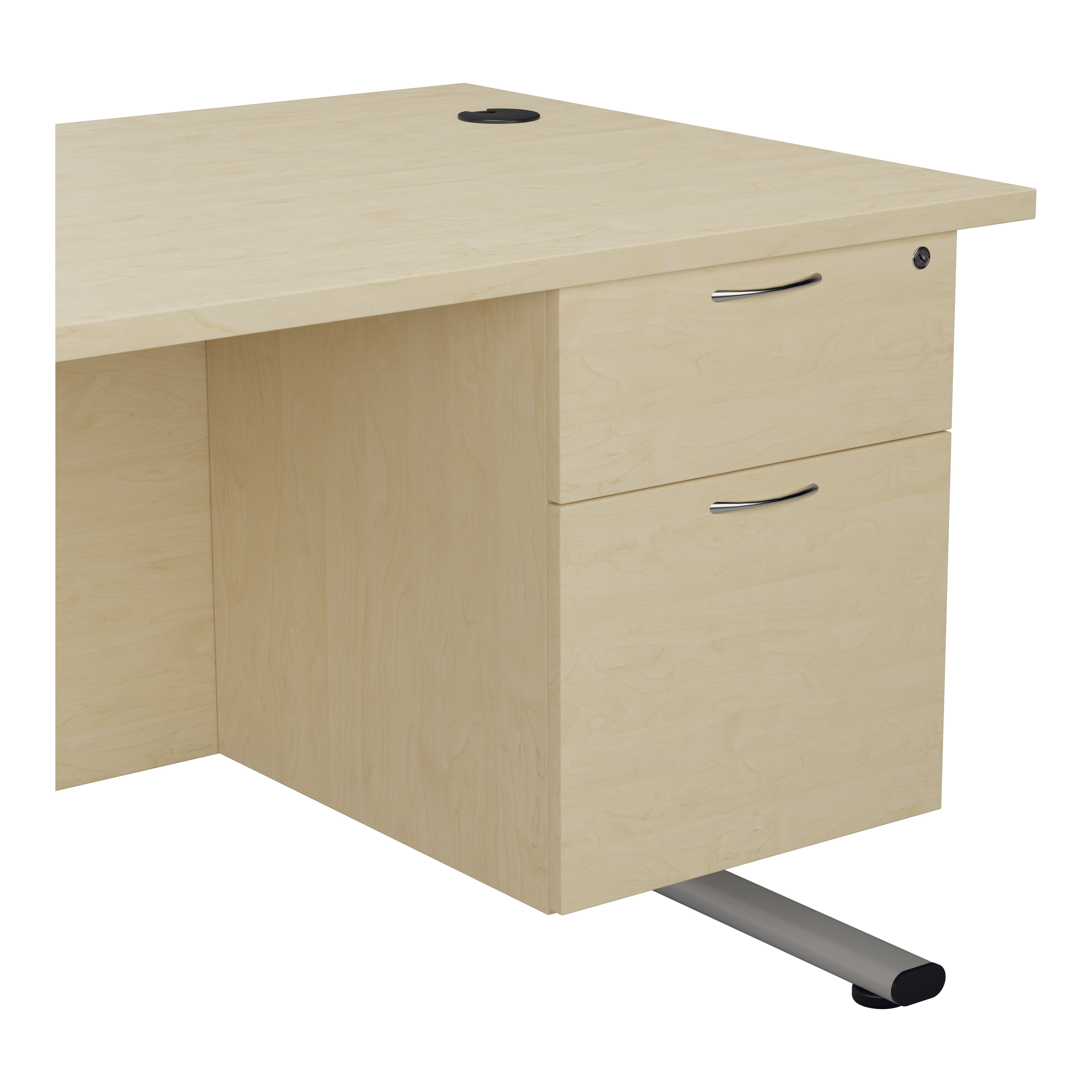 Essentials - 2 Drawer Fixed Pedestal