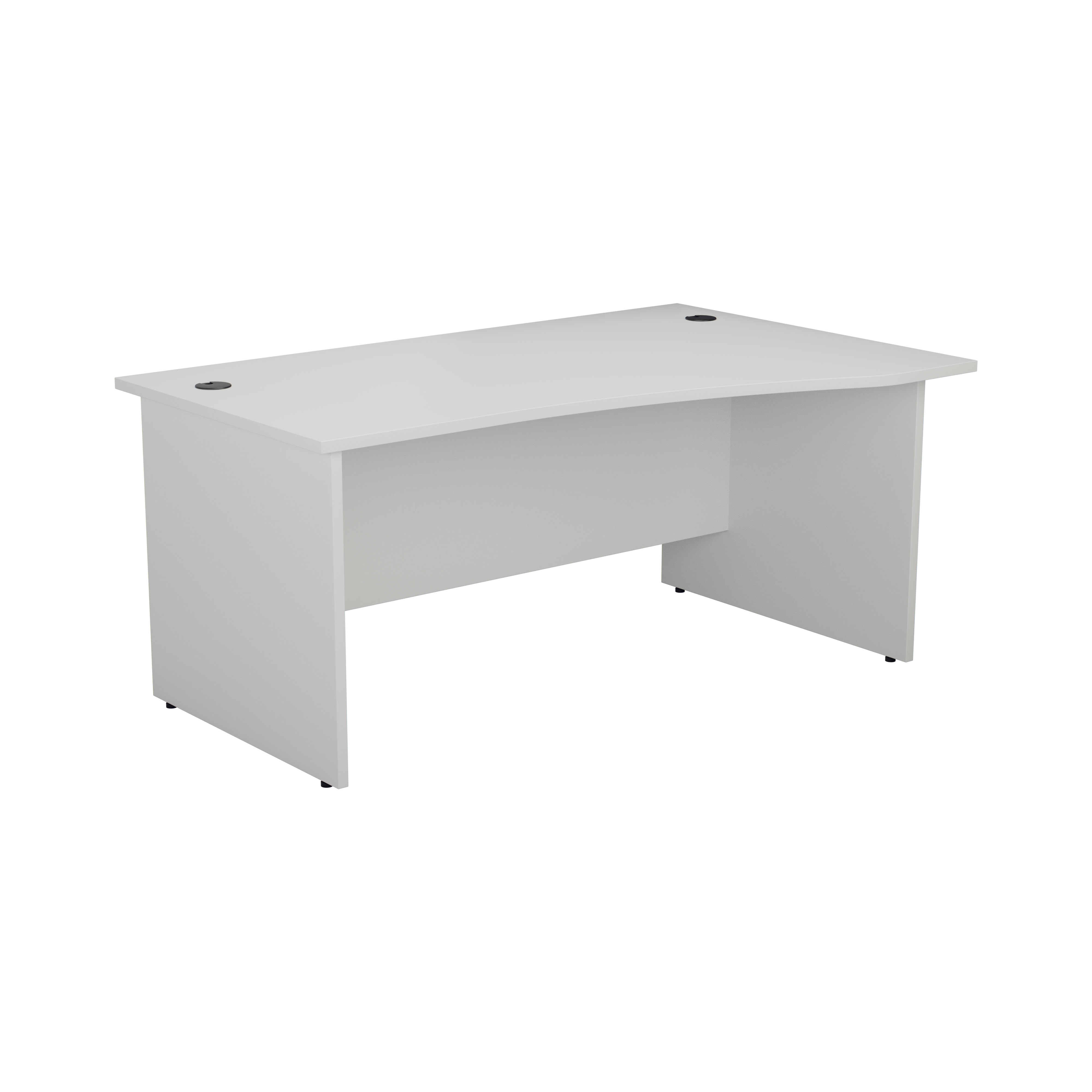 Essentials - 1600mm Panel End Right Hand Wave Desk