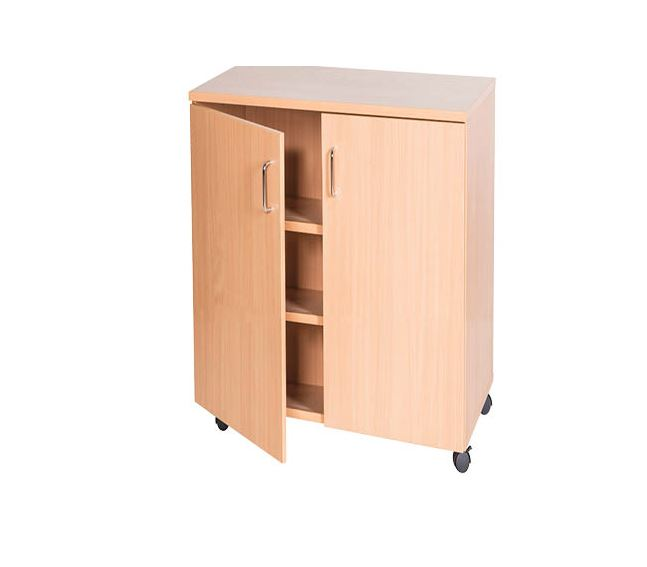 Double Bay Storage Cupboard - 861mm High