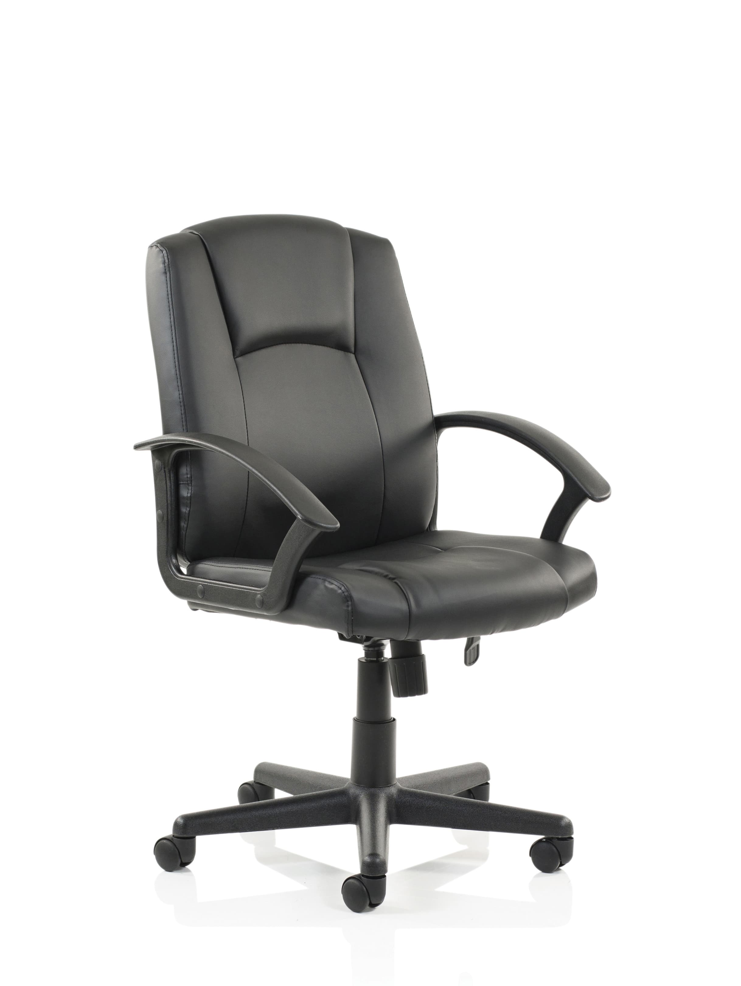 Bella Executive Manager Chair Black Leather