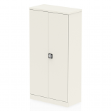 Qube Stationery 1850mm 2-Door Cupboard With Shelves