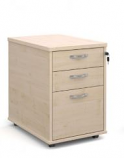 Relax Tall Three Drawer Mobile Pedestal