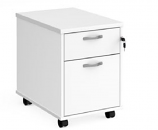 Relax Two Shallow Drawer Mobile Pedestal