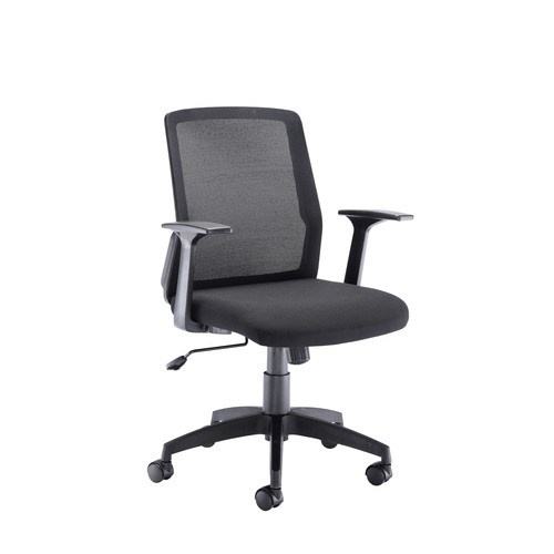 Denali Mid Back Chair - Black Mesh (CLONE)