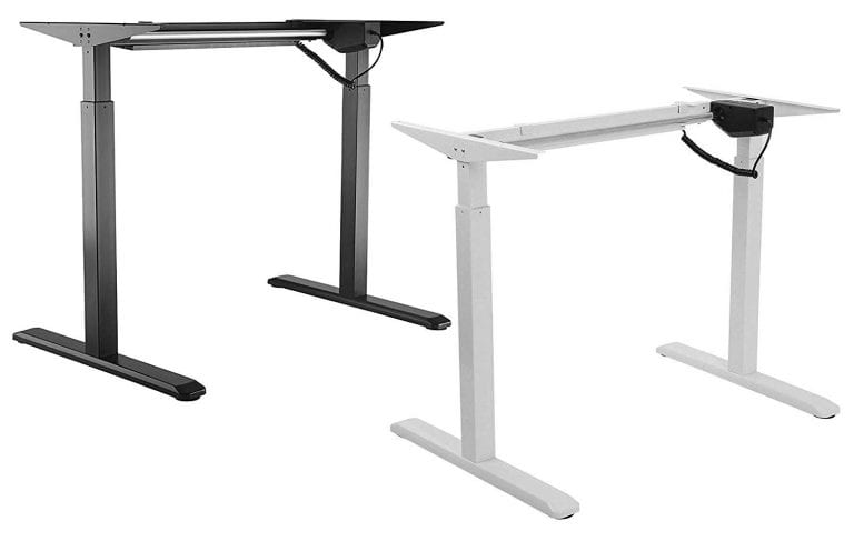 Electric Single Motor Height Adjustable Desk Frame