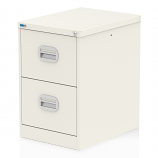 Qube 2 Drawer Filing Cabinet