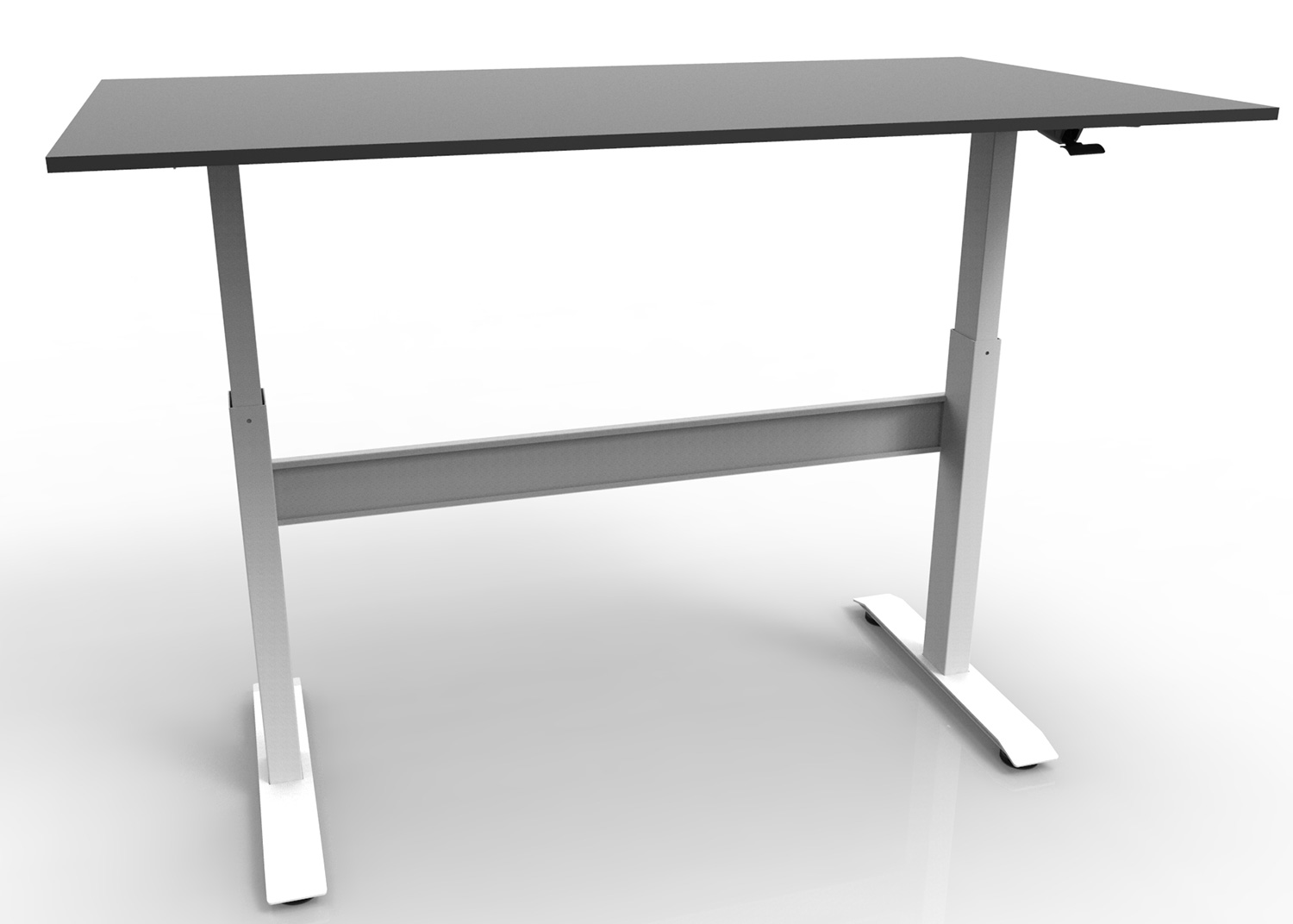 Electric Dual Motor Height Adjustable Desk Frame