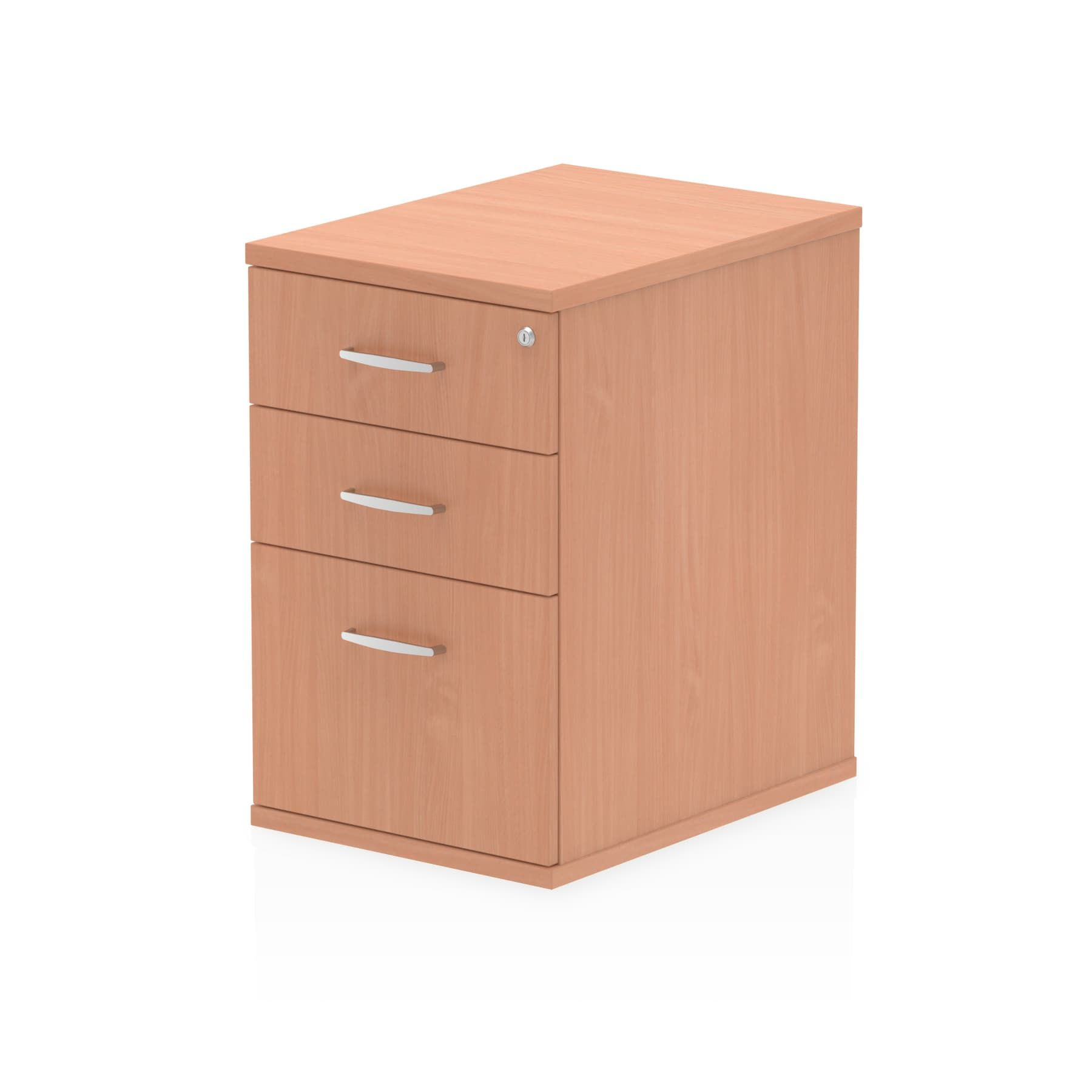 Impulse Desk High Pedestal 3 Drawer 600 Depth with 730mm Height