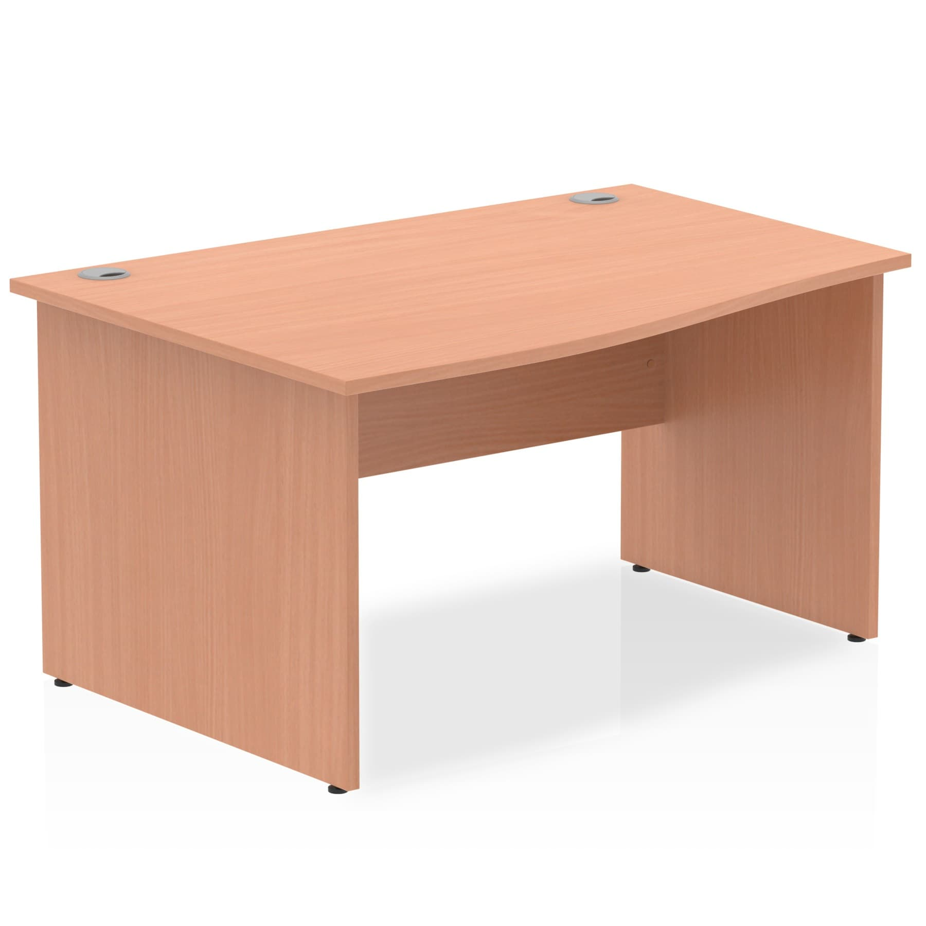 Impulse 1400 Left Hand Wave Desk With Height 730mm