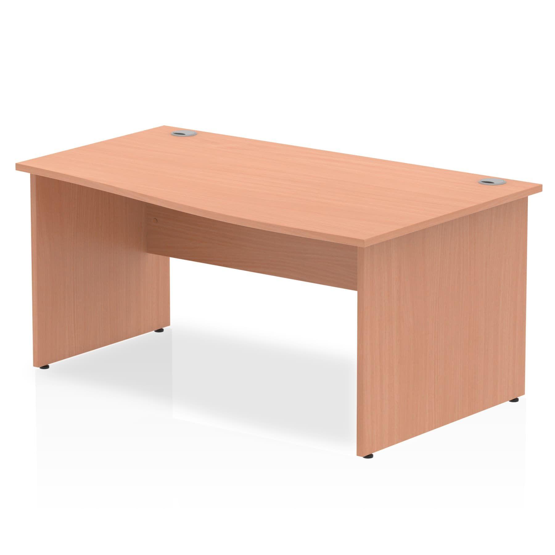 Impulse 1600 Right Hand Wave Desk