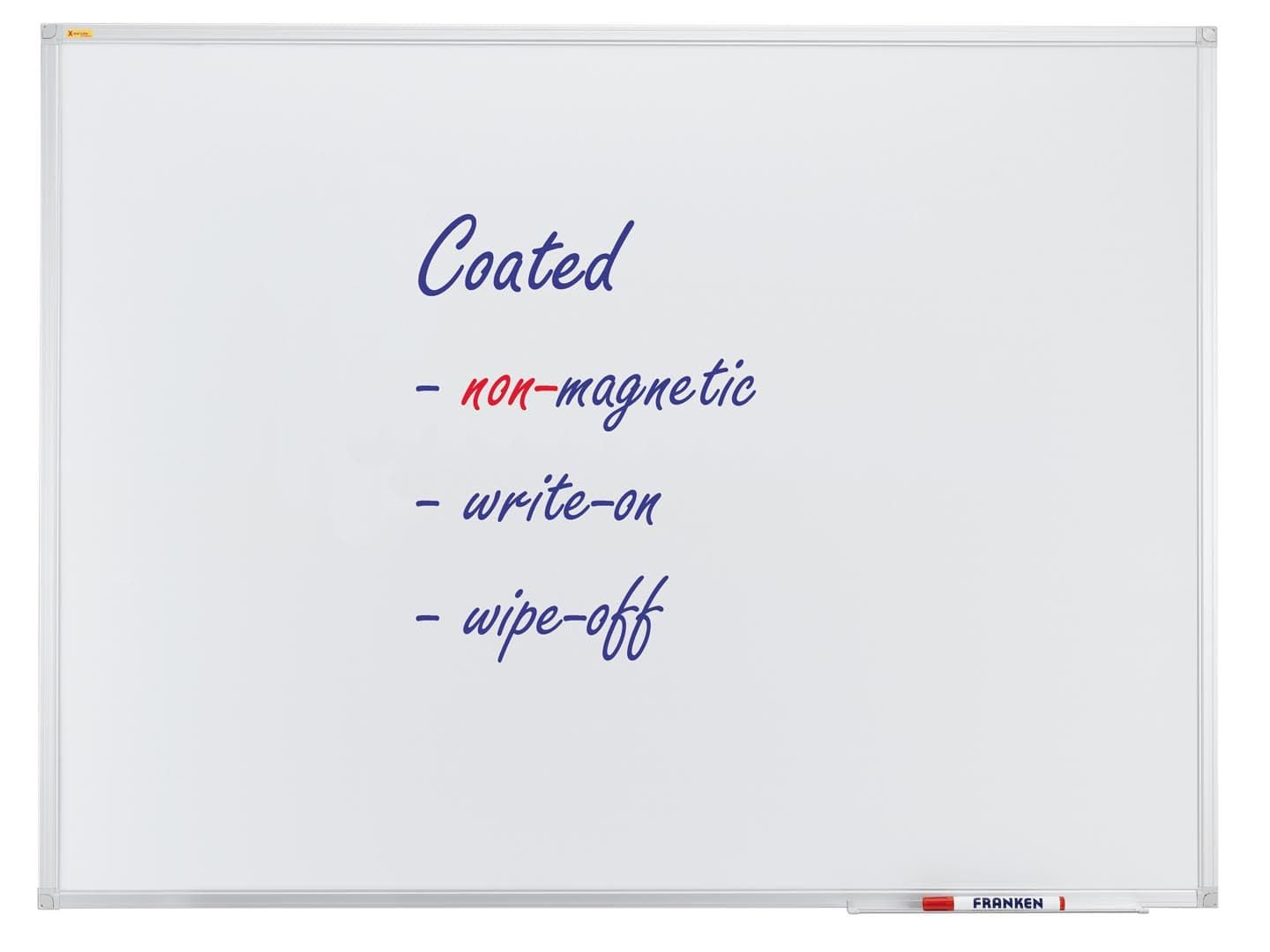 Whiteboard X-tra!Line®, non-magnetic