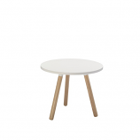 TRIPOD COFFEE TABLE - White