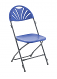Titan Fan Back Folding Chair