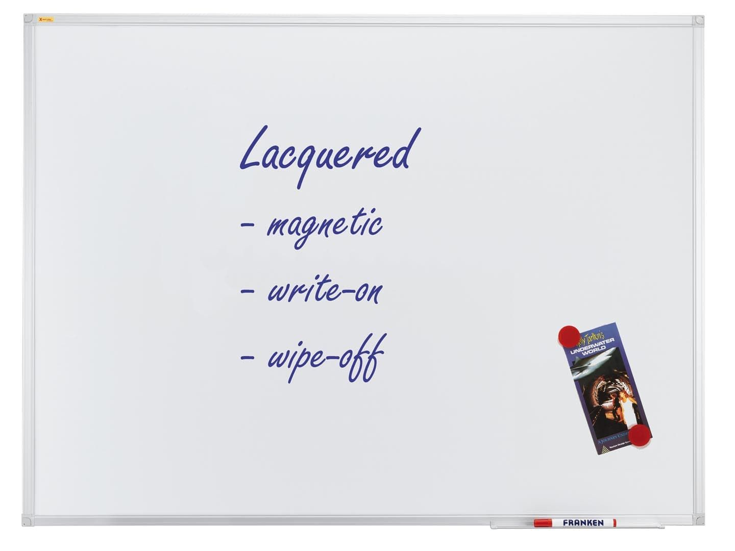 Whiteboard X-tra!Line®, lacquered steel