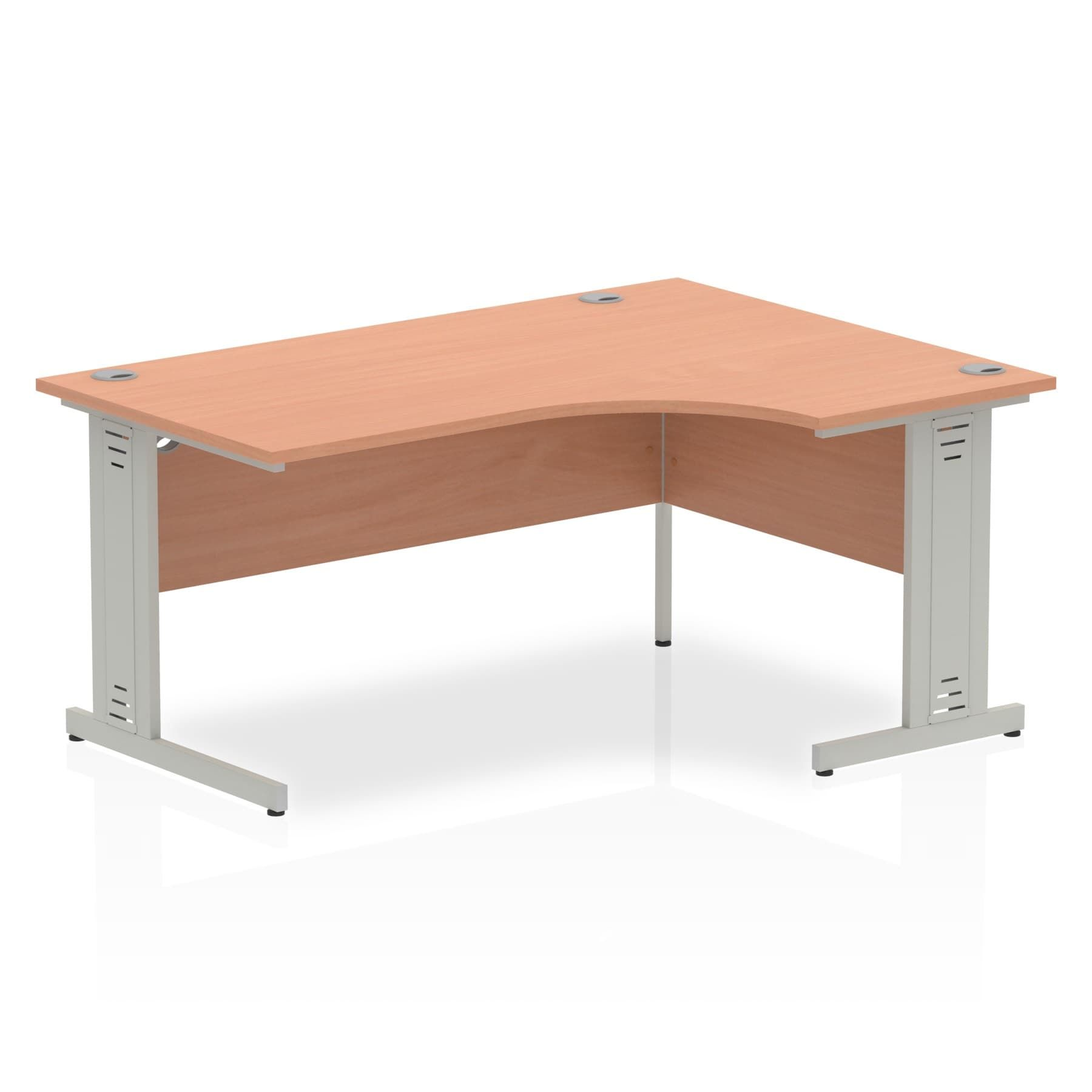 Impulse 1600 Right Hand Crescent Desk