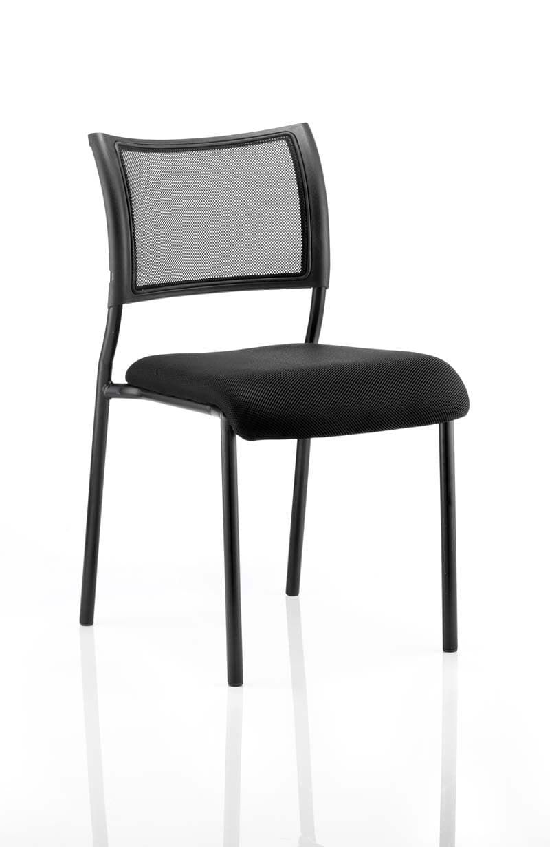 Brunswick No Arm Bespoke Colour Seat Black Frame