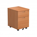 Essentials - 2 Drawer Mobile Pedestal
