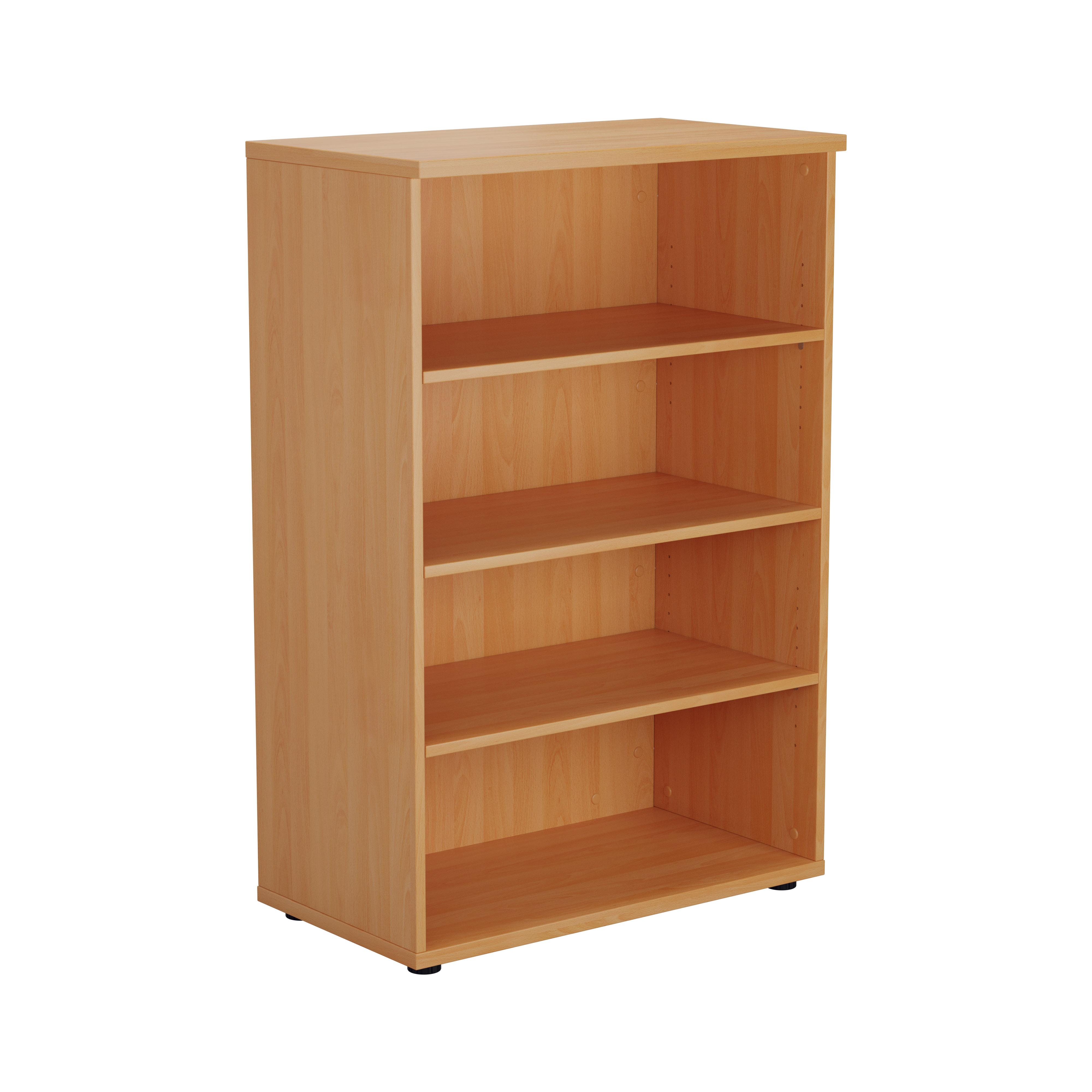 Essentials - 1200mm High Bookcase
