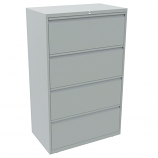 Bisley 4 Drawer Essentials Steel Side Filer with 1270mm Height