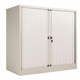 Bisley Essentials Steel Side Open Tambour with 1000mm Height