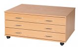 3 Drawer A1 Planchest