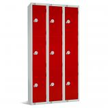 Three Door Locker - Nest of 3