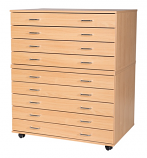 9 Drawer A1 Planchest