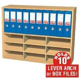 Wall Mounted Box File Unit