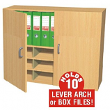 Wall Mounted Box File Cupboard