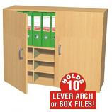 Wall Mounted Box File Cupboard