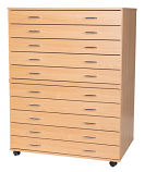 10 Drawer A1 Planchest