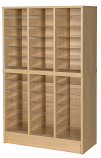Premium Triple Pigeonhole Unit With 36 Spaces