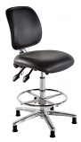 Deluxe Cleanroom Draughtsman Chair