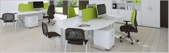 Phoenix Rectangular Office Desks
