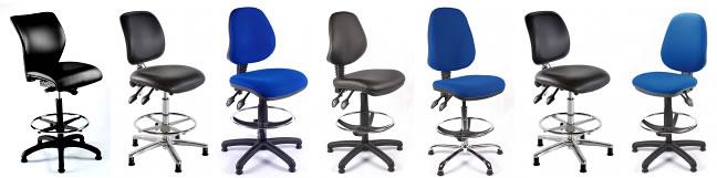 Ergonomic Draughtsman chairs